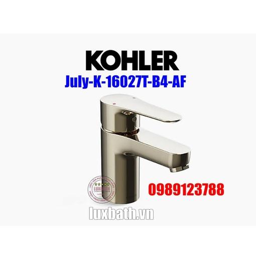 Vòi chậu Kohler July K-16027T-B4-AF màu vàng Pháp