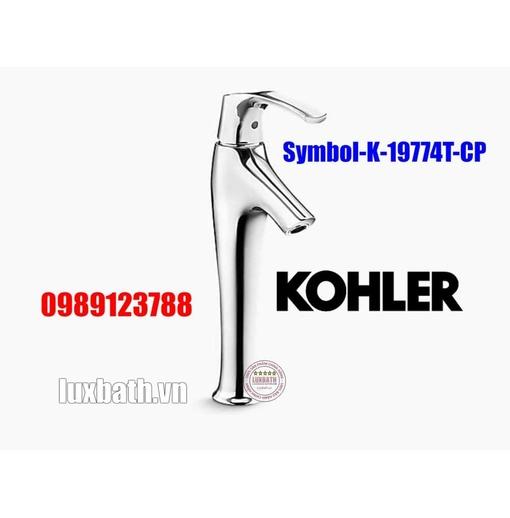 Vòi chậu rửa mặt cao Kohler Symbol K-19774T-CP mạ chrome bóng