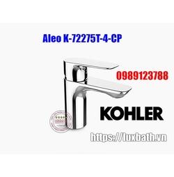 Vòi chậu rửa mặt nóng lạnh Kohler Aleo K-72275T-4-CP