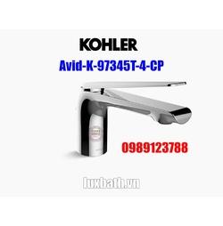 Vòi chậu rửa mặt nóng lạnh Kohler Avid K-97345T-4-CP