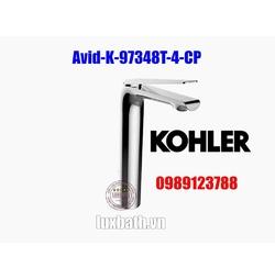 Vòi chậu rửa mặt nóng lạnh Kohler Avid K-97348T-4-CP