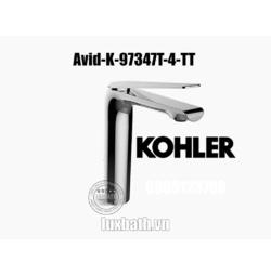 Vòi chậu rửa mặt nóng lạnh Kohler Avid K-97347T-4-TT