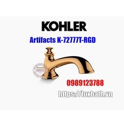 Thân vòi bồn tắm Kohler Artifacts K-72777T-RGD vàng hồng