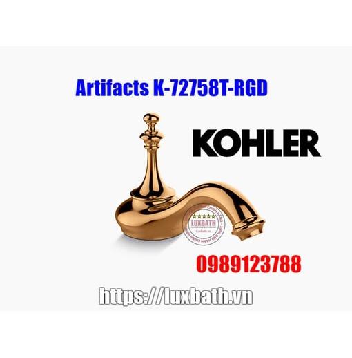 Thân vòi chậu rửa Kohler Artifacts K-72758T-RGD vàng hồng
