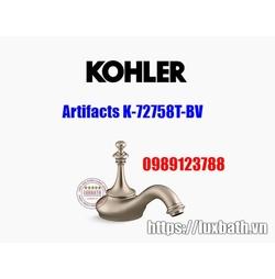 Thân vòi chậu rửa Kohler Artifacts K-72758T-BV đồng mờ