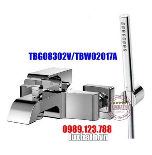 Vòi Sen Tắm Nóng Lạnh TOTO TBG08302V/TBW02017A