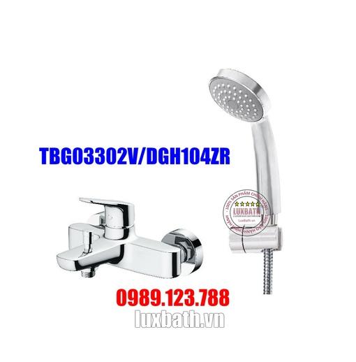 Vòi Sen Tắm Nóng Lạnh TOTO TBG03302V/DGH104ZR