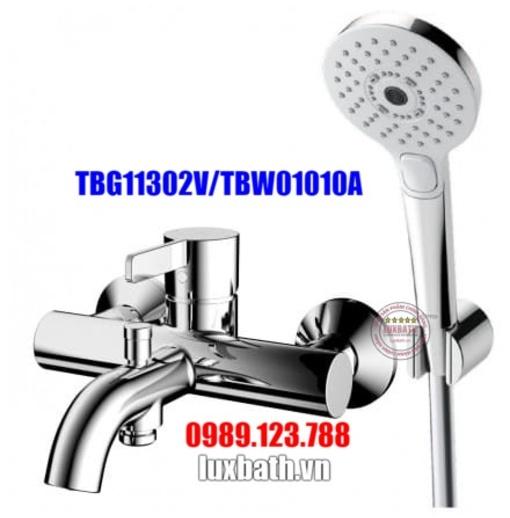 Vòi Sen Tắm Nóng Lạnh TOTO TBG11302V/TBW01010A