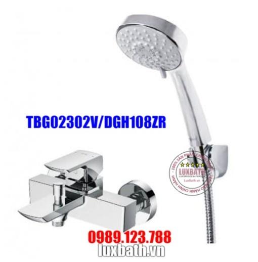 Vòi Sen Tắm Nóng Lạnh TOTO TBG02302V/DGH108ZR