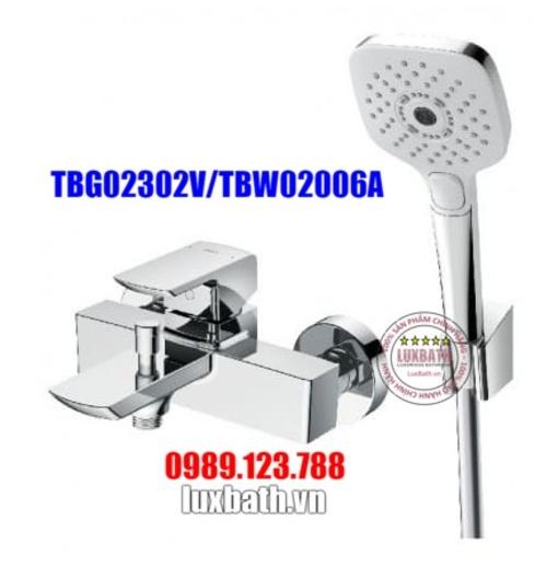 Vòi Sen Tắm Nóng Lạnh TOTO TBG02302V/TBW02006A