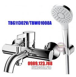 Vòi Sen Tắm Nóng Lạnh TOTO TBG11302V/TBW01008A