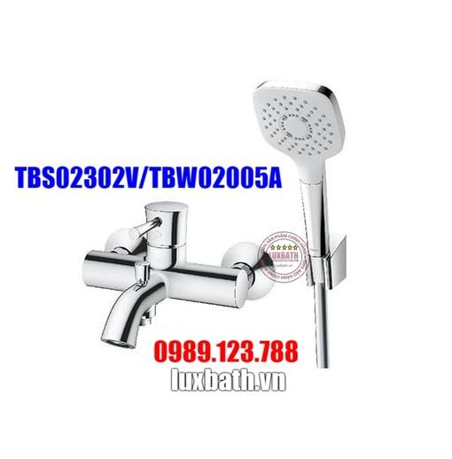Sen tắm nóng lạnh TOTO TBS02302V/TBW02005A