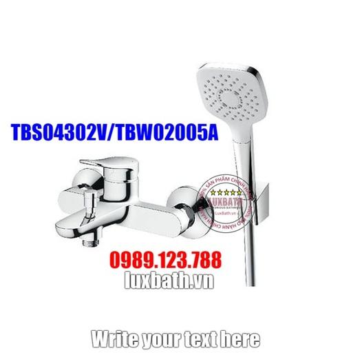 Sen tắm nóng lạnh TOTO TBS04302V/TBW02005A