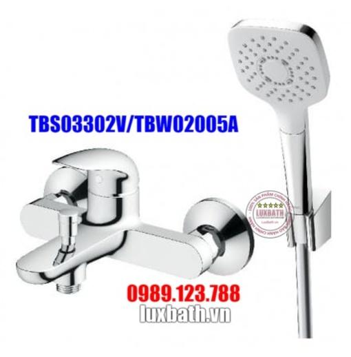 Sen tắm nóng lạnh TOTO TBS03302V/TBW02005A