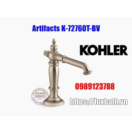 Thân vòi chậu rửa Kohler Artifacts 72760T-BV đồng mờ