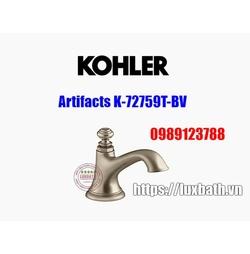 Thân vòi chậu rửa Kohler Artifacts 72759T-BV màu đồng mờ