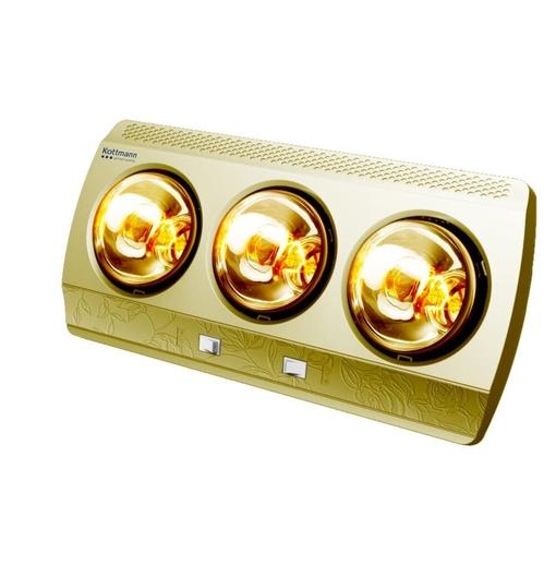 Đèn Sưởi Nhà Tắm Kottmann 3 Bóng K3BG