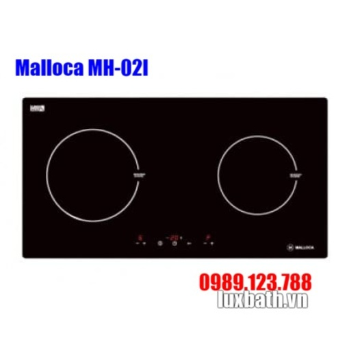 Bếp Điện Từ Malloca MH-02I 2 Vùng Nấu