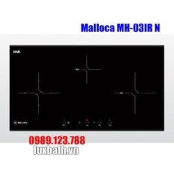Bếp Điện Từ Malloca MH-03IR N Kính Âm Kết Hợp Hồng Ngoại 3 Vùng Nấu