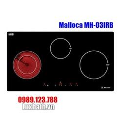 Bếp Điện Từ Malloca MH-03IRB Kết Hợp Hồng Ngoại 3 Vùng Nấu
