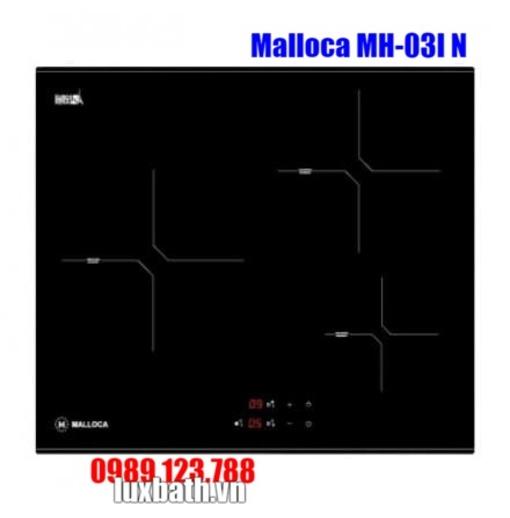 Bếp Điện Từ Malloca MH-03I N 3 Vùng Nấu