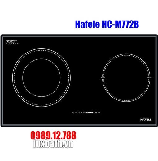 Bếp Điện Từ Hafele HC-M772B 536.01.815 Kết Hợp Hồng Ngoại 2 Vùng Nấu