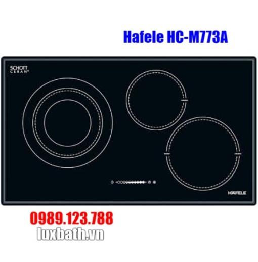 Bếp Điện Từ Hafele HC-M773A 536.01.705 Kết Hợp Hồng Ngoại 3 Vùng Nấu