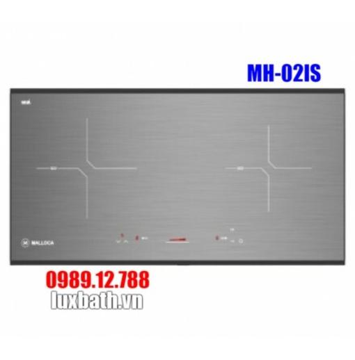 Bếp Điện Từ Malloca MH-02IS 2 Bếp Kính Âm