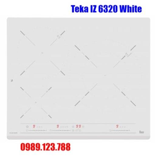 Bếp Điện Từ Teka IZ 6320 White 10210206 3 Mặt Bếp