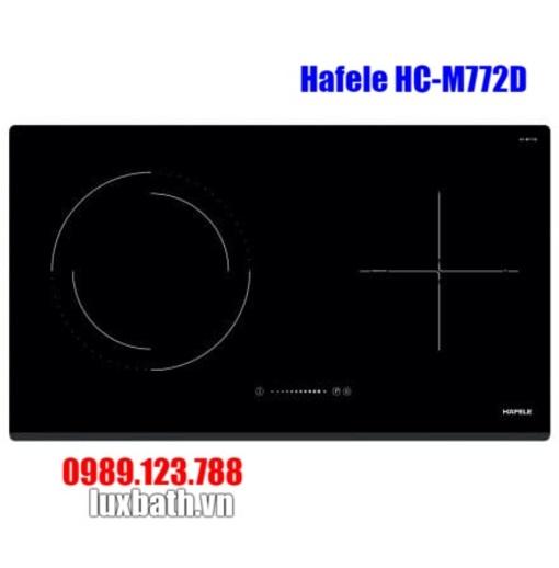 Bếp Điện Từ Hafele HC-M772D 536.61.695 Kết Hợp Hồng Ngoại 2 Vùng Nấu