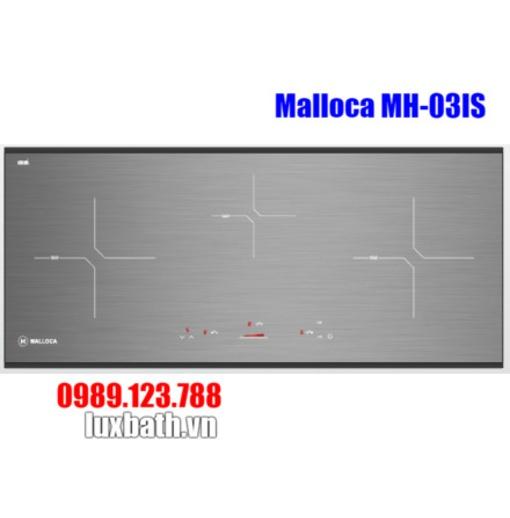 Bếp Điện Từ Malloca MH-03IS Mặt Kính 3 Vùng Nấu