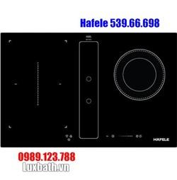 Bếp Điện Từ Hafele HC-IHH80A 539.66.698 Kết Hợp Hút Mùi 2 Vùng Nấu