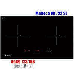 Bếp Điện Từ Malloca MI 732 SL Mặt Kính 2 Vùng Nấu