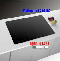 Bếp Điện Từ Malloca MI-784 ITG Mặt Kính 4 Vùng Nấu