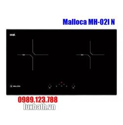 Bếp Điện Từ Malloca MH-02I N Mặt Kính Âm 2 Vùng Nấu