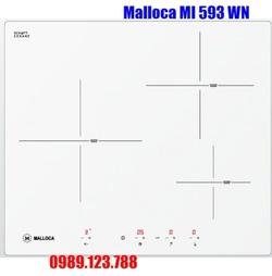 Bếp Điện Từ Malloca MI 593 WN Mặt Kính 3 Vùng Nấu