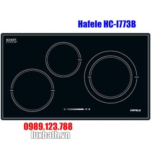 Bếp Điện Từ Hafele HC-I773B 3 536.01.595 3 Vùng Nấu