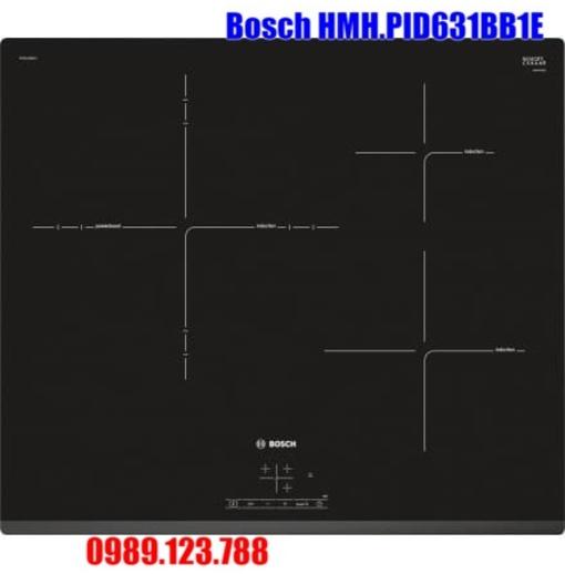 Bếp Điện Từ Bosch HMH.PID631BB1E 3 Vùng Nấu