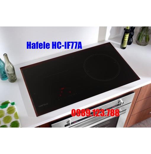Bếp Điện Từ Hafele HC-IF77A 536.61.555 3 Vùng Nấu