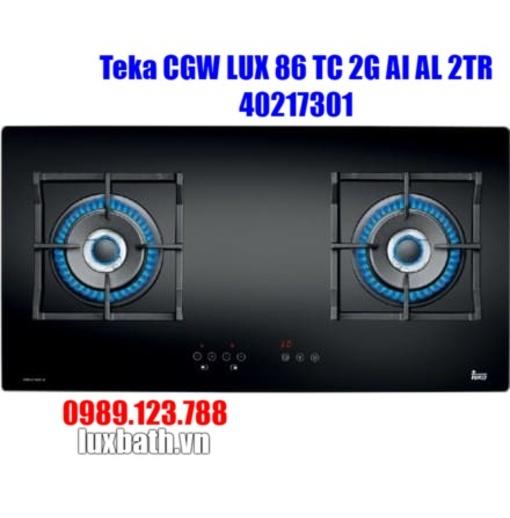 Bếp Ga Teka CGW LUX 86 TC 2G AI AL 2TR 40217301 2 Mặt Bếp