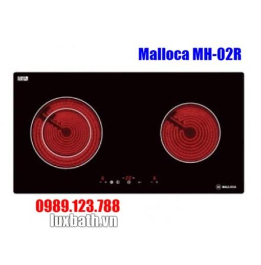 Bếp Hồng Ngoại Malloca MH-02R 2 Vùng Nấu