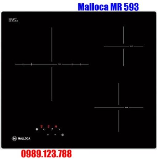 Bếp Điện Hồng Ngoại Malloca MR 593 Có 3 Vùng Nấu