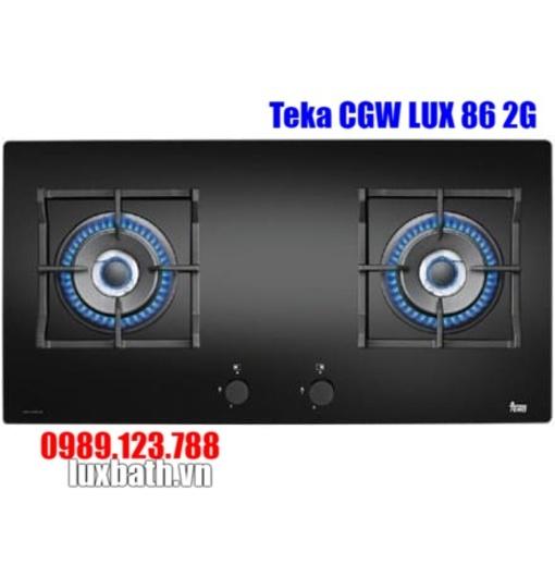 Bếp Ga Teka CGW LUX 86 2G AI AL 2TR CI 40215101 2 Mặt Bếp