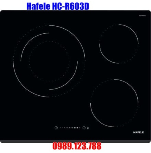 Bếp Điện Hồng Ngoại Hafele HC-R603D 536.01.901 3 Vùng Nấu