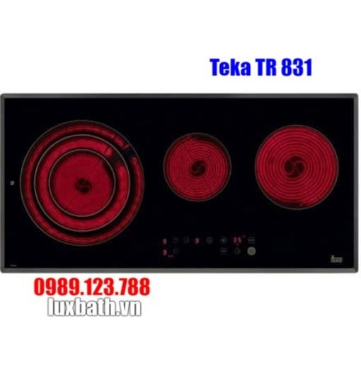 Bếp Hồng Ngoại Teka TR 831 HZ 10210004 3 Vùng Nấu