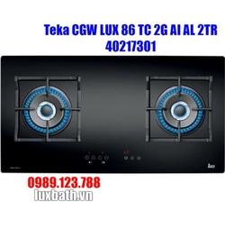 Bếp Ga Teka CGW LUX 86 TC 3G 40217300 3 Mặt Bếp Âm