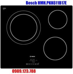 Bếp Điện Bosch HMH.PKK611B17E Hồng Ngoại 3 Vùng Nấu