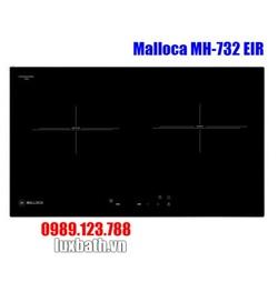 Bếp Điện Từ Malloca MH-732 EIR Kết Hợp Hồng Ngoại 2 Vùng Nấu