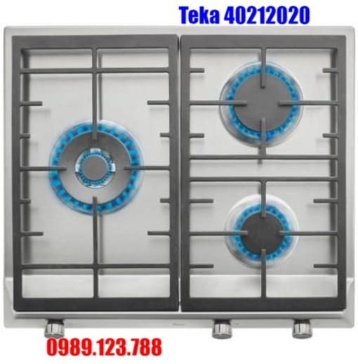 Bếp Ga Teka EX/60.1 3G AI AL DR CI BUT (E1) 40212020 3 Vùng Nấu