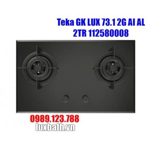 Bếp Ga Teka GK Lux 75 2G AI AL 40232007 2 Mặt Bếp
